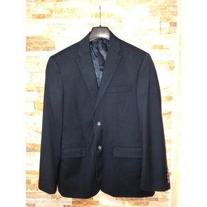 "Perry Ellis ""City Fit"" Navy blue blazer"
